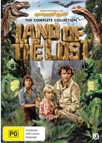 Land of the Lost - The Complete Collection Box Set on DVD