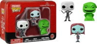 Nightmare Before Christmas Pocket Pop! Tin - Mini Vinyl Figure Set (3 Pack)