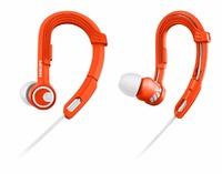 Philips ActionFit Sports Earhook Headphones (Orange)