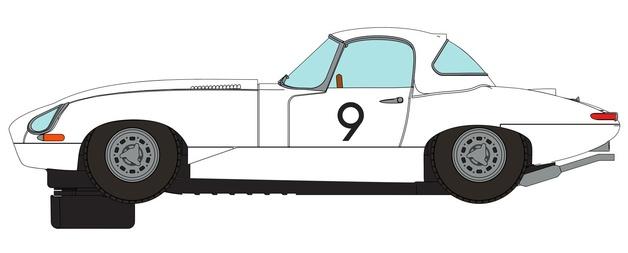 Scalextric: DPR Jaguar E Type 1965 Bathurst - Slot Car