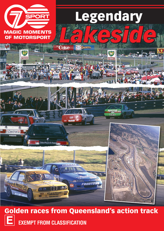 Magic Moments Of Motorsport: Legendary Lakeside on DVD