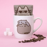 Pusheen the Cat Socks in a Mug - Stormy