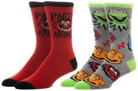 The Muppets: - Men's Crew Sock Set (2-Pack)