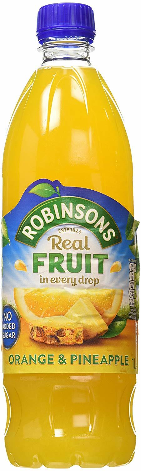 Robinsons Squash Orange and Pineapple Mixer (1 Litre) image