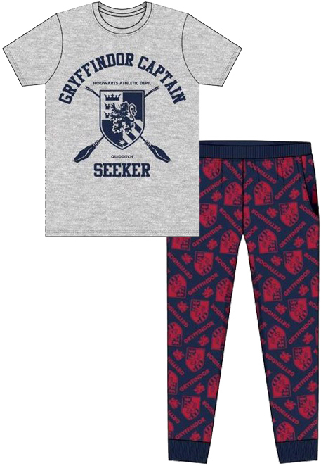 Harry Potter: Gryffindor Seeker - Mens Pyjama Set (Small)