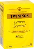 Twinings Lemon Scented Tea Bags (20 Bags)