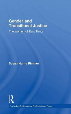 Gender and Transitional Justice by Susan Harris Rimmer image