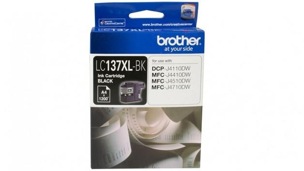 Brother LC-137XLBK High Yield Ink Cartridge (Black)