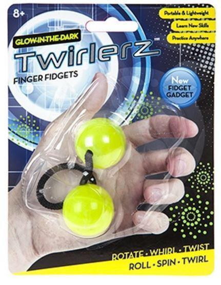 Twirlerz: Glow in the Dark Finger Fidgets