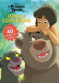 Disney The Jungle Book Jungle Colouring by Parragon Books Ltd image