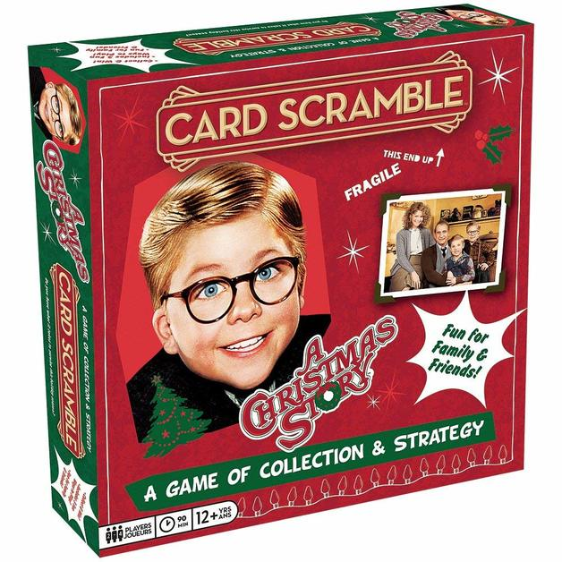 A Christmas Story: Card Scramble - Board Game