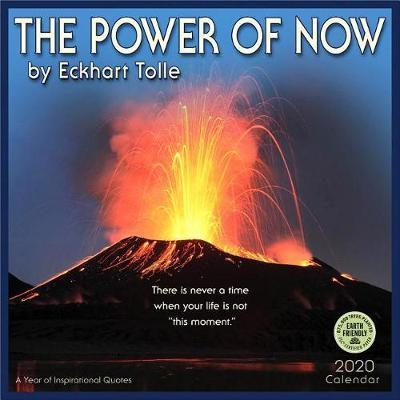Power of Now 2020 Wall Calendar by Eckhart Tolle