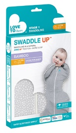 Love to Dream: Swaddle Up - Zip-Up Swaddle - Bamboo Wave Dot (Medium)