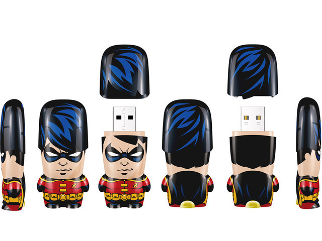 8GB Batman - Robin Mimobot USB Flash Drive image