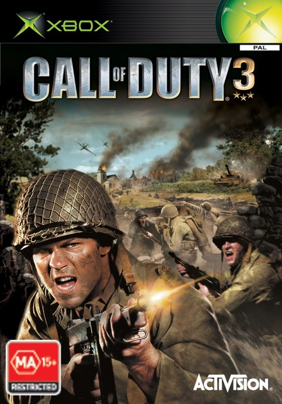 Call of Duty 3 for Xbox