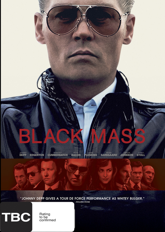 Black Mass on DVD