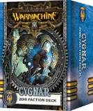 Warmachine: Cygnar Faction Deck 2016