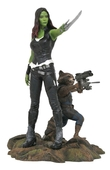 "Guardians of the Galaxy: Vol. 2: Gamora & Rocket - 11"" PVC Diorama"