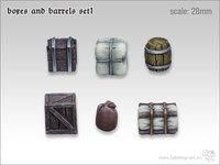 Tabletop-Art: Boxes & Barrels #1 - Parts Set