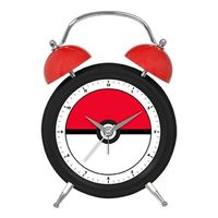 Pokemon Twin Bell Alarm Clock - Pokeball