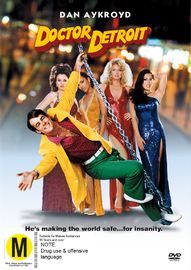 Doctor Detroit on DVD image