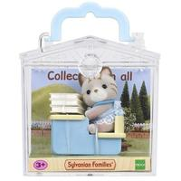 Sylvanian Families: Family Life Baby Carry Case - Cat at School Desk