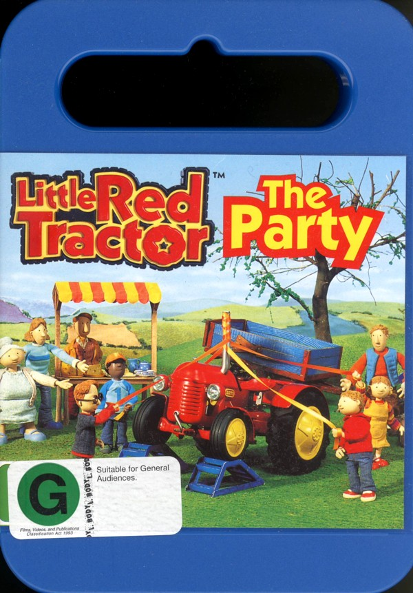 Little Red Tractor - The Party on DVD image