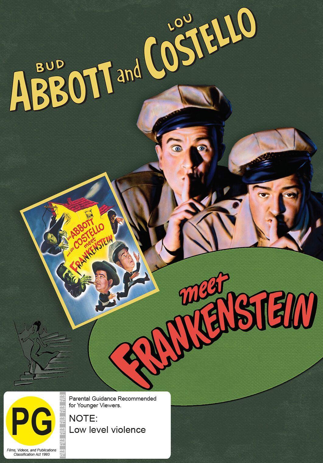 Abbott And Costello Meet Frankenstein on DVD image