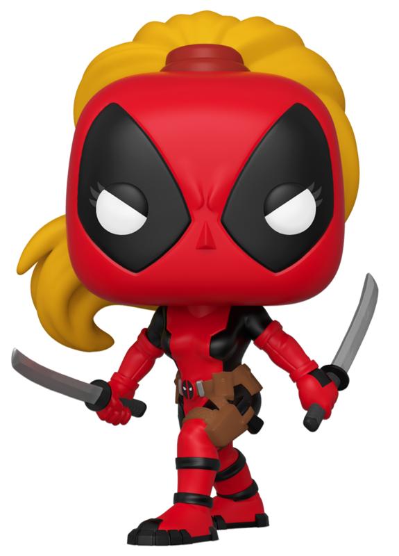 Marvel: 80th - Lady Deadpool Pop! Vinyl Figure