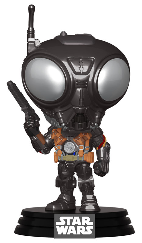 Star Wars: The Mandalorian - Q9-Zero (Metallic) Pop! Vinyl Figure