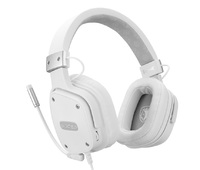 SADES Snow Wolf Gaming Headset for Switch, PC, PS4, Xbox One