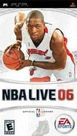 NBA Live 06 for PSP