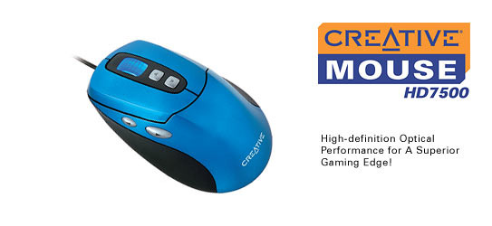 Creative HD7500 Mouse