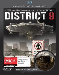 District 9 on Blu-ray