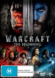 Warcraft: The Beginning on DVD image