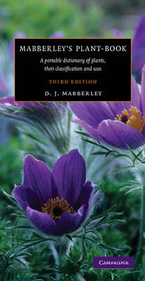 Mabberley's Plant-Book by David J. Mabberley image