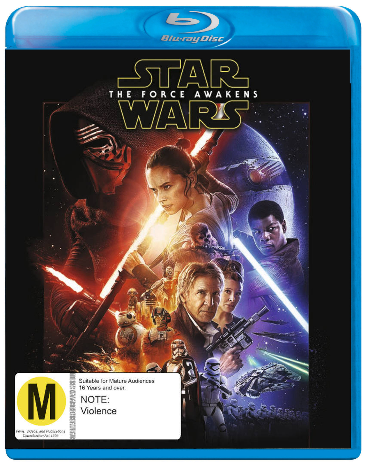 Star Wars: Episode VII - The Force Awakens on Blu-ray image