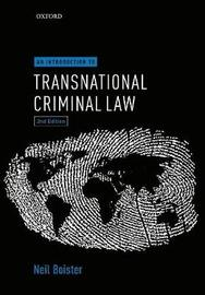 An Introduction to Transnational Criminal Law by Neil Boister image