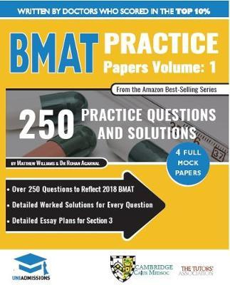 BMAT Practice Papers Volume 1 by Rohan Agarwal image