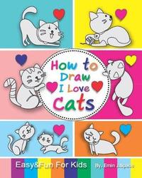 How to Draw I Love Cats by Emin J Space