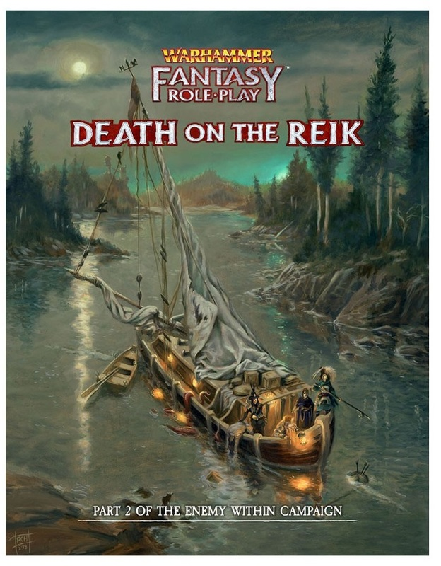 Warhammer: Fantasy RPG - Enemy Within Campaign Director's Cut - Vol. 2: Death on The Reik