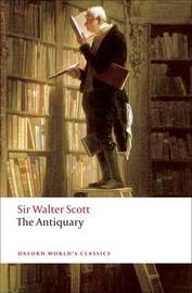 The Antiquary by Walter Scott image