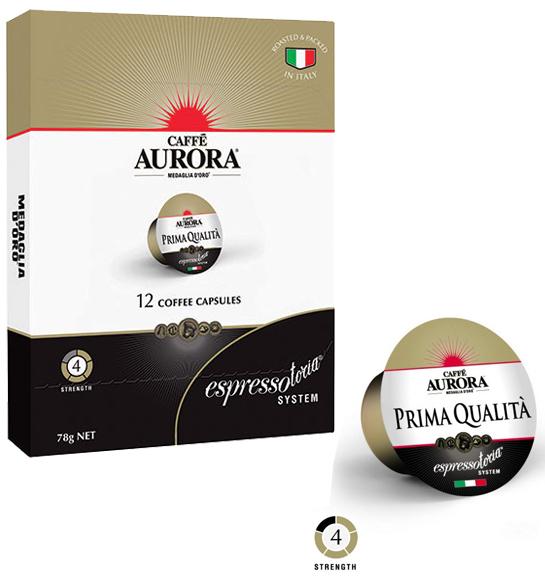 Caffe Aurora Prima Qualita Coffee Capsules