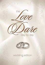 The Love Dare Day by Day, Wedding Edition by Stephen Kendrick image