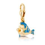 Disney Little Mermaid Flounder Charm