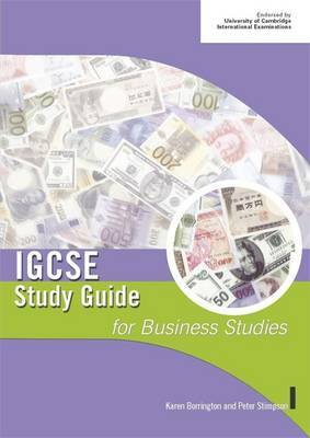 IGCSE Study Guide for Business Studies by Peter Stimpson