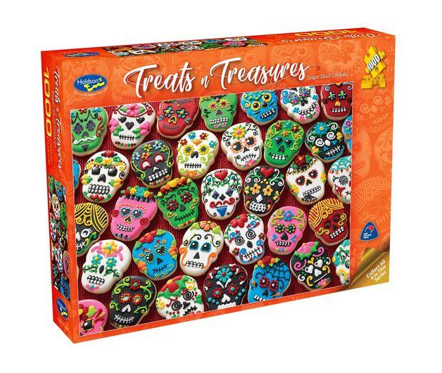 Holdson: Treats 'n Treasures S2 - Sugar Skull Cookies (1000pc puzzle)