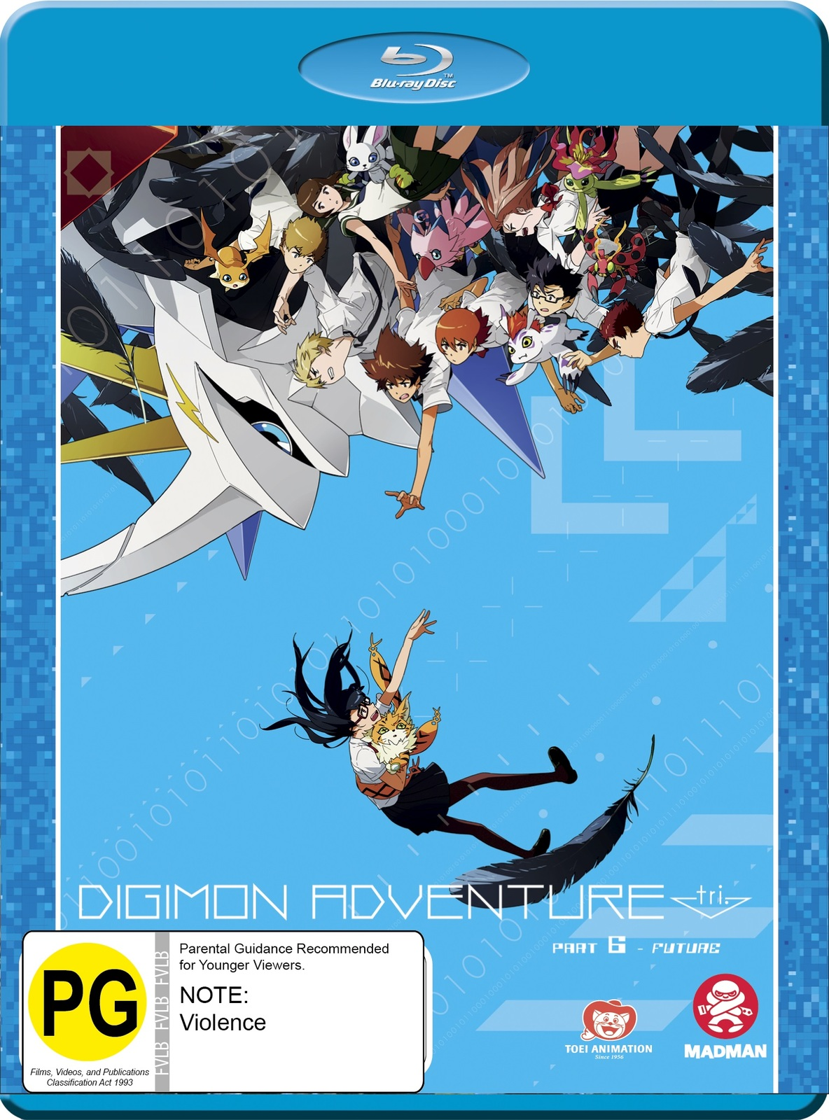 Digimon Adventure Tri. Part 6 - Future on Blu-ray image