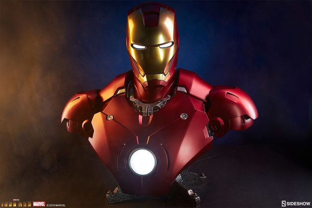 Marvel: Iron Man (Mark III) - Life Size Bust
