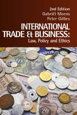 International Trade and Business by Gabriel Moens image